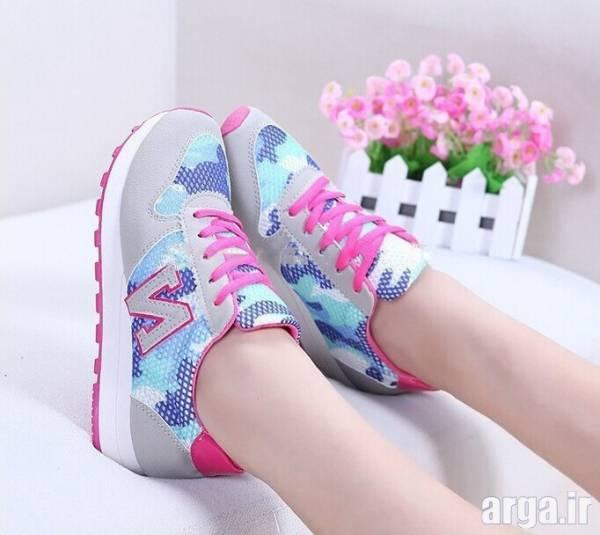 کفش اسپرت رنگی