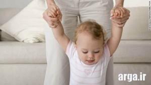دانستنی هایی راه رفتن کودک