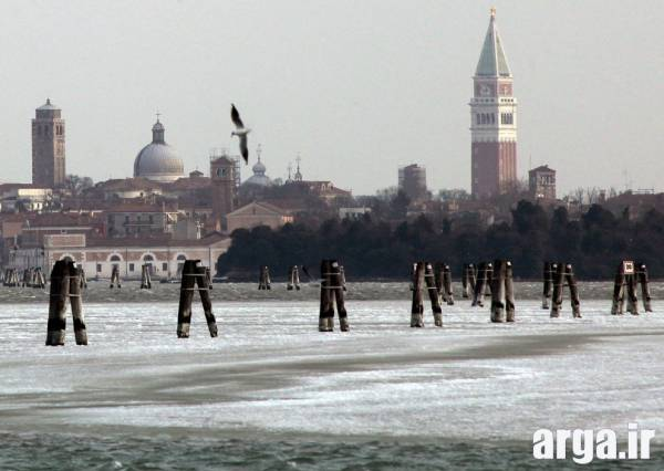 زمستان و یخبندان در ونیز