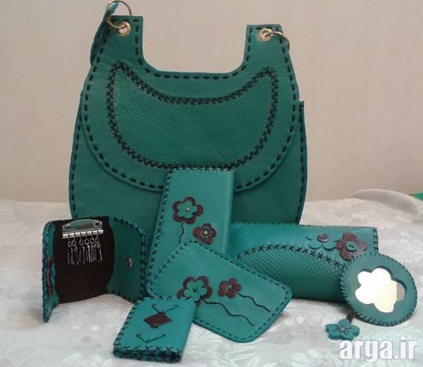 کیف چرم زنانه 3