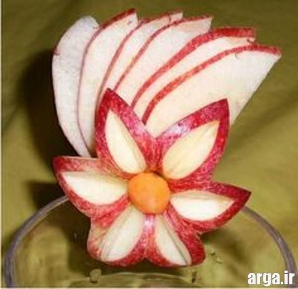 میوه آرایی سیب