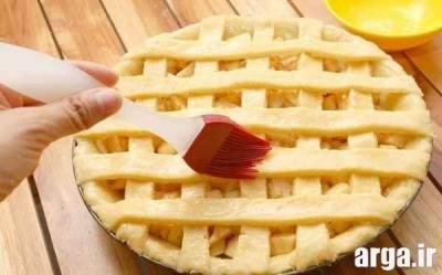 پای سیب دارچینی