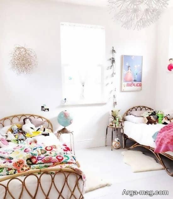 دکوراسیونی از اتاق کودک دخترانه