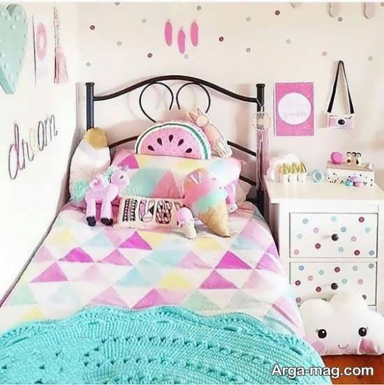 طراحی اتاق کودک دخترانه