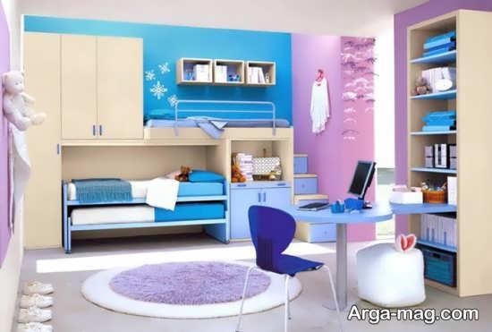 دیزاین اتاق کودک دخترانه