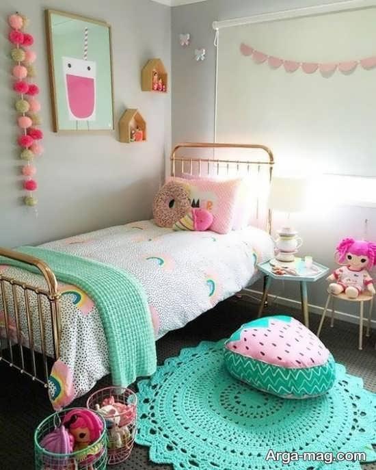 چیدمان اتاق کودک دخترانه
