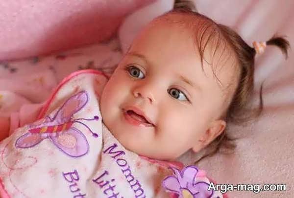 عکس دختر بچه جدید