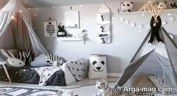 طراحی و چیدمانی شیک برای اتاق کودک