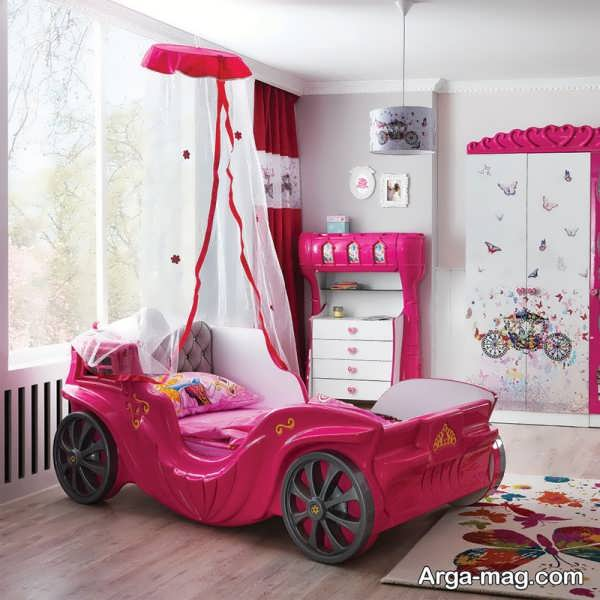 تزیین و چیدمان اتاق کودک با طراحی زیبا