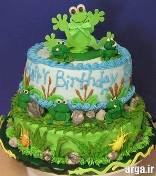 کیک تولد طبیعت