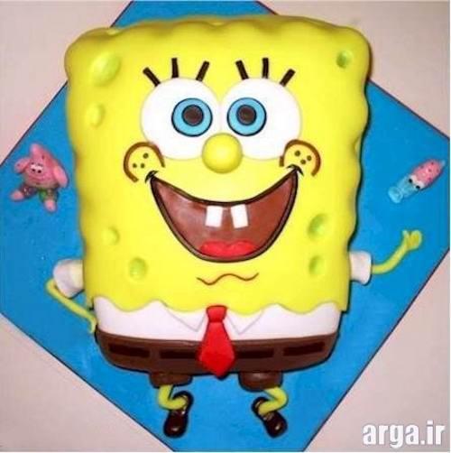 تهیه کیک تولد باب اسفنجی