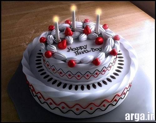 کیک تولد 2 طبقه