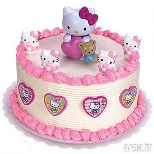 کیک تولد دو طبقه