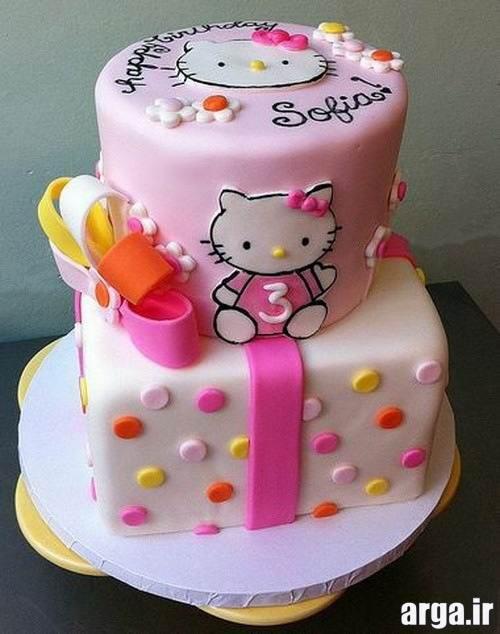 تهیه و تزیین کیک تولد