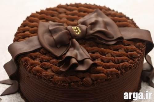 تزیین کیک تولد با روبان