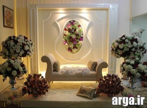 تزیین جایگاه برای عروس