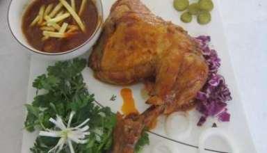 طرز خورشت مرغ
