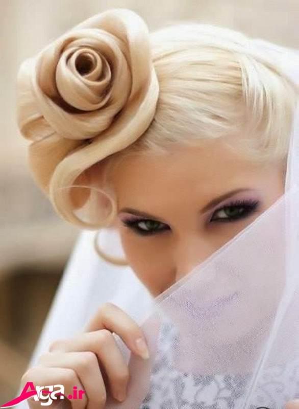 مدل های شینیون گل