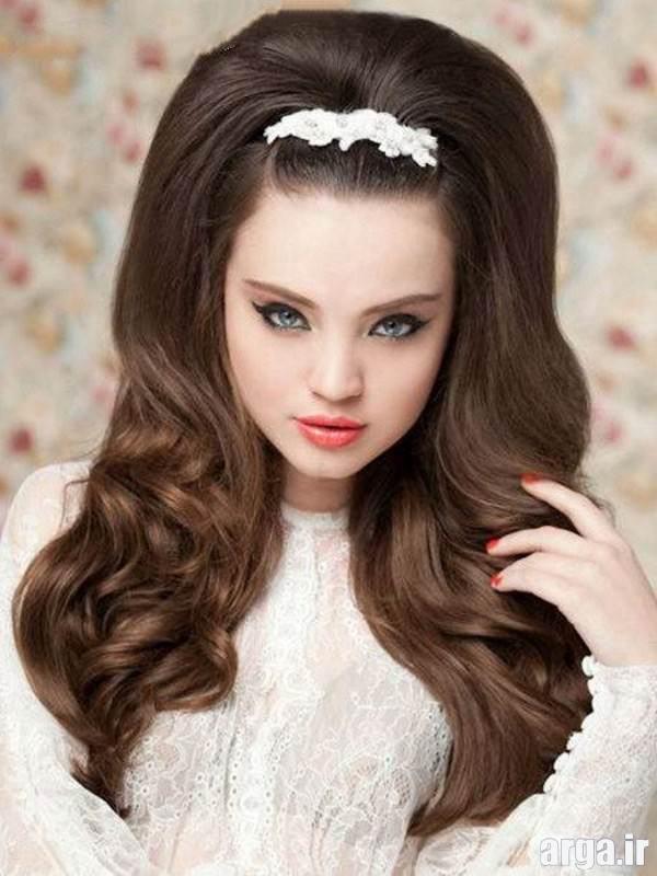 مدل شینیون مو دخترانه