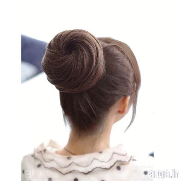 مدل شینیون مو
