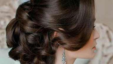 شینیون موی دخترانه