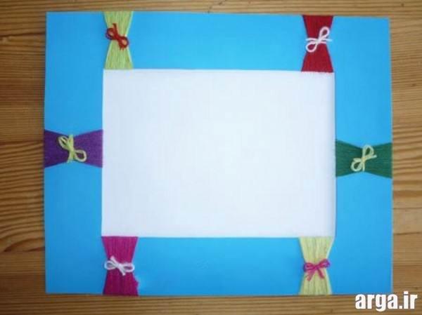 کاردستی کودکانه با کاغذ