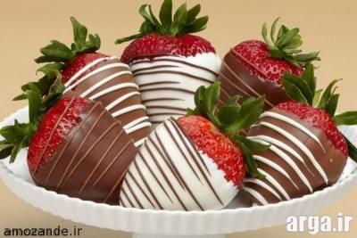 دسر شکلاتی لذیذ