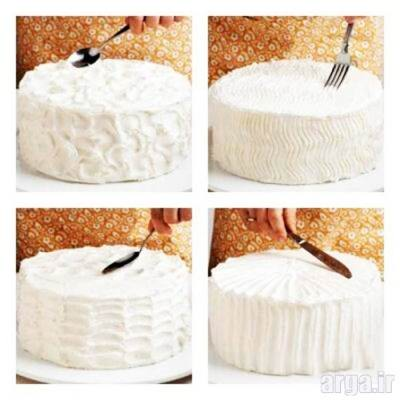 طرز تهیه خامه کیک 6