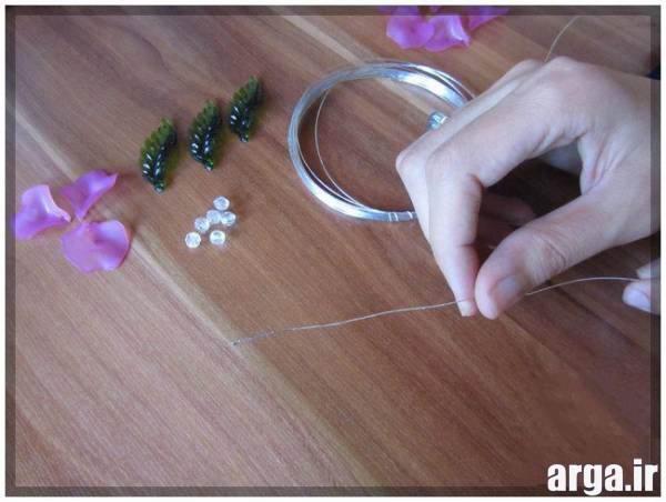 آموزش گل کریستالی