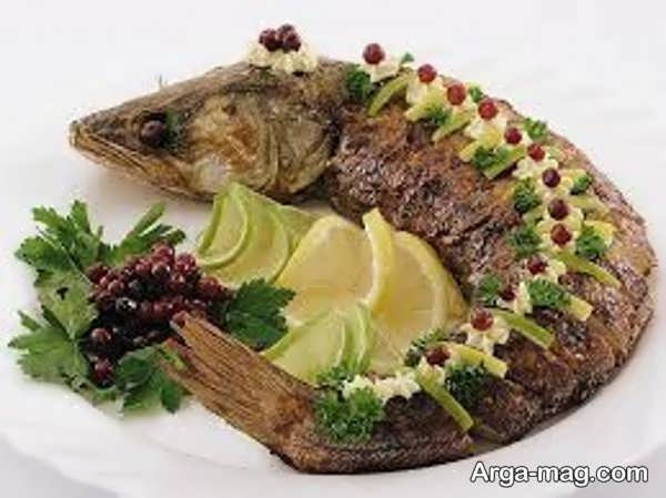 دیزاین مدرن غذاهای فست فودی