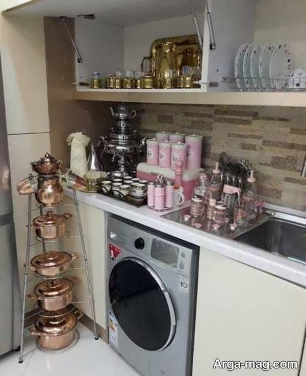 دیزاین جذاب آشپزخانه عروس