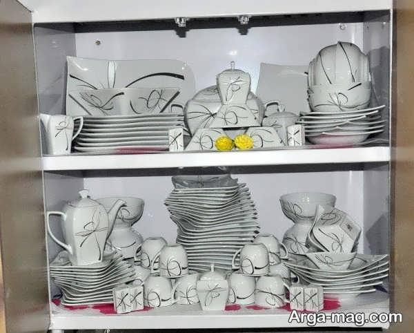 دیزاین لاکچری آشپزخانه عروس