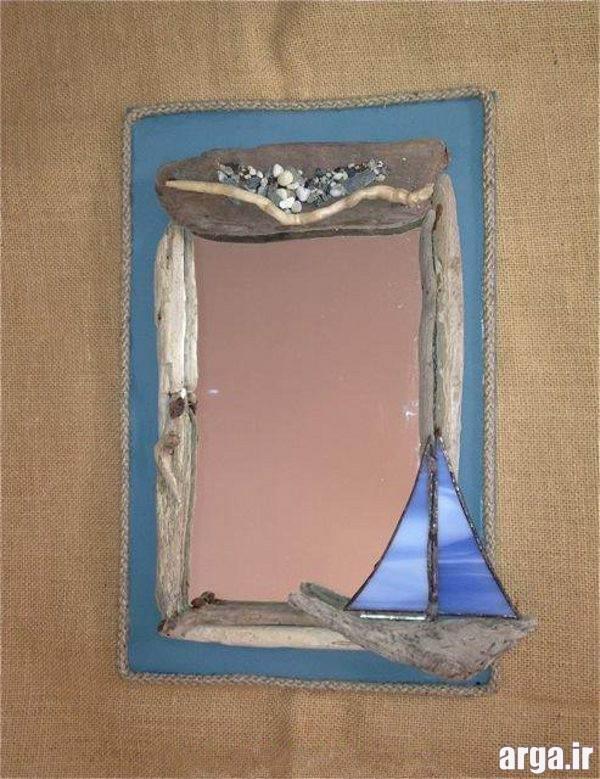 تزئین آینه