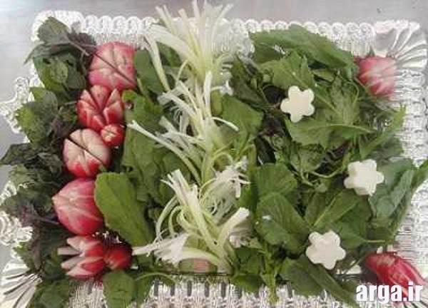 تزیین سبزی