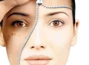 لایه بر داری پوست صورت و بدن