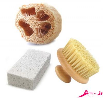 وسایل مورد نیاز برای لایه برداری پوست