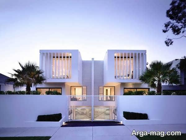 نمای ساختمانی مدرن و زیبا