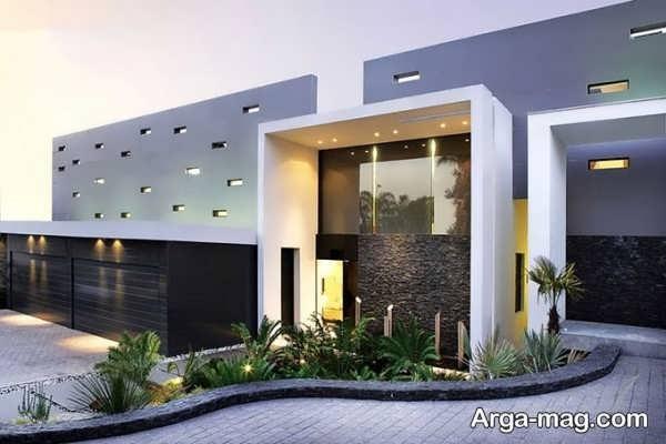تصاویری از نمای منازل مدرن