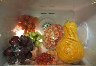 تزیین یخچال عروس شیک
