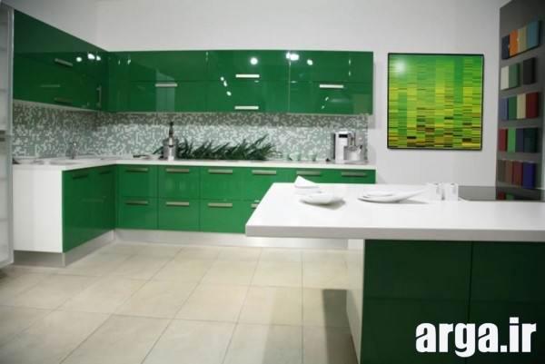 آشپزخانه سبز