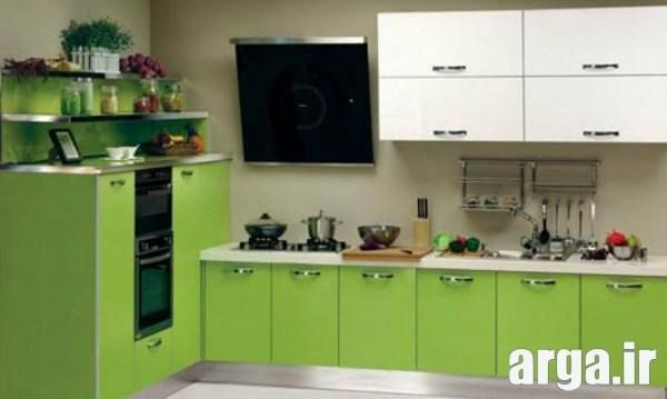 دکوراسیون سبز برای آشپزخانه