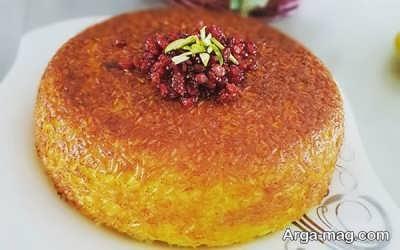 دستور طبخ ته چین مرغ