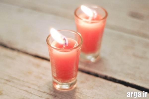 ساخت شمع با شمع کهنه