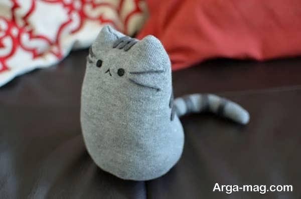 ساخت عروسک با جورابهای نخی