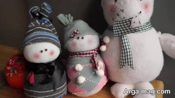 ساخت عروسک با جورابهای کهنه