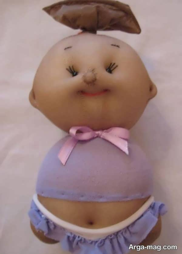 ساختن عروسک جذاب با جوراب