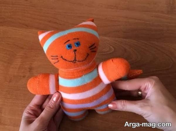 تصاویری از مدل عروسک با جوراب