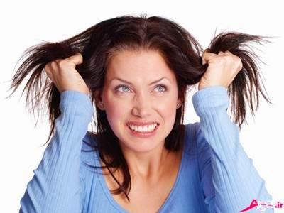 ماسک درمان موی چرب