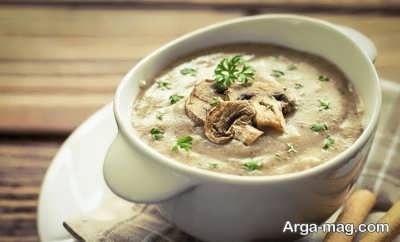 تهیه سوپ قارچ