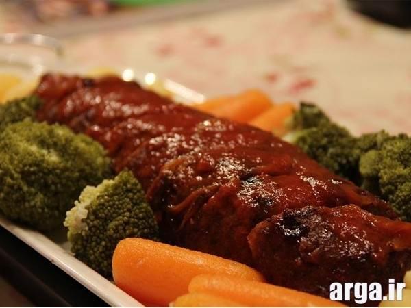 دستورالعمل رولت گوشت